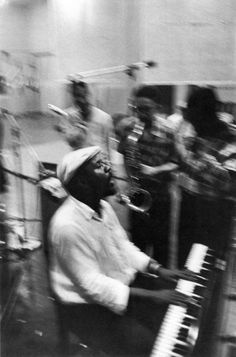 Thelonious Monk, 1957.  Photo: Lee Friedlander.