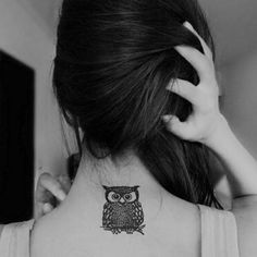 OWL Tat- sorry guys. My acceptance to rice is getting me a little owl crazy