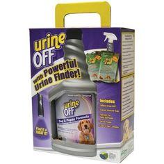 Urine Off Pt4525 Dog Urine Finder Clean-up Kit, 500ml, Multicolor