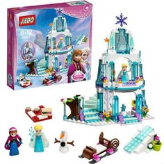 $ - Nice 316pcs Color box Dream Princess Elsa Ice Castle Princess Anna Set Model Building Blocks Gifts Toys Compatible legoe Friends - Buy it Now!