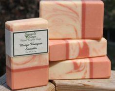 Jabón artesano hecho a mano de Papaya fruta de la por SagegoldSoaps