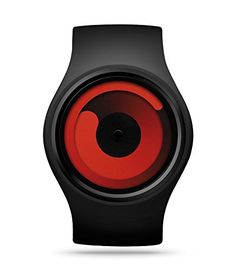 ZIIIRO Z0001WB Gravity Black Unisex Watch * Find out more about the great product at the image link.