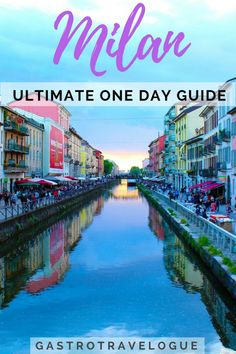 Milan is one of the most popular cities in Italy. Find out the best things to do, places to see and where to eat if you're only visiting Milan for one day. Backpacking Europe, Cinque Terre, Palermo, Pisa, Bucket List Europe, Italy Travel Tips, Travel Europe, Europe Train, Milan Travel