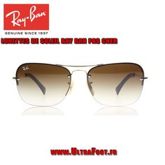 Ray-Ban 3541 Or-marron 001 13 ultrafoot