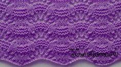 "Knitting pattern: ""Wave"" (pattern - maomao - my heart action Lace Knitting Stitches, Cable Knitting, Knitting Charts, Knitting Designs, Knitting Projects, Hand Knitting, Knitting Patterns, Crochet Patterns, Lace Patterns"