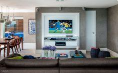 Inspire-se em quatro projetos de home theater e monte o seu! - Casa