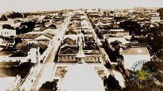 1923 - Terreno Vazio depois da demolição do 1º TEATRO SAO CARLOS DE CAMPINAS