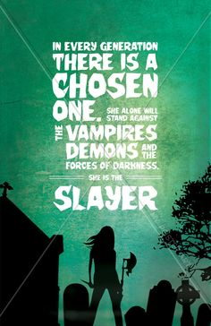 Buffy the Vampire Slayer She is The Slayer 11x17 by MyPosterArt