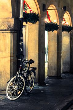 Arcades in Advent, Münster Germany - #Muenster