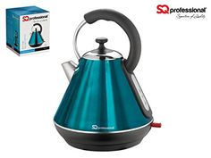 SQ Professional - Legacy Electric Kettle, 1.8 l (1H-0WB4-OH3I) (Aquamarine Blue)