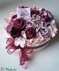 Nyugdíjas búcsúztató virág doboz (Decoflor) - Meska.hu Crown, Corona, Crowns, Crown Royal Bags