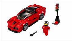 Lego announced that from 2015 they will offer the Porsche 918, LaFerrari and McLaren P1, together with the Ferrari 150, Ferrari F14, Ferrari 458 Italia GT2, Porsche 911 GT and McLaren Mercedes F1, in the new Lego speed champions package. All of the cars feature stickers, which makes them look like race cars. You can see the video with the official pictures of all the cars below.