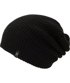 The Zine Smith black beanie has a ribbed knit acrylic construction for soft to the touch comfort and great warmth. Cozy up with the versatile look of the black colorway that works great with any outfit with a Zine brand tag on the hem for added style.