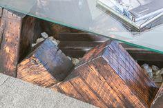 Derailment Coffee Table from Rail Yard Studios