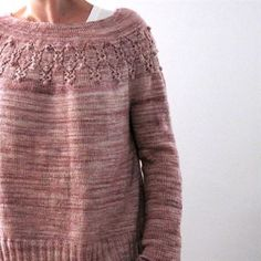 Knitting Patterns Jumper Knitting Pattern Arwen by Isabell Kraemer // Arwen is a round-neck pullover that can be worn seamlessly from … Ravelry, Baby Sweater Knitting Pattern, Arwen, Circular Knitting Needles, Work Tops, Top Pattern, Pulls, Lana, Knitted Hats