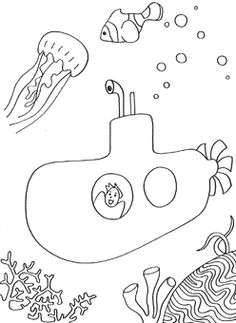 8 free printable Under The Sea coloring pages