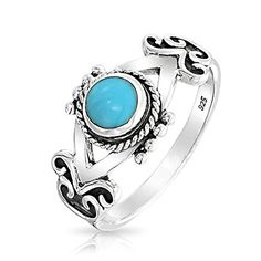 Bling Jewelry 925 Sterling Silver Antique Style Bali Rope Simulated Turquoise Gemstone Ring Bling Jewelry http://www.amazon.com/dp/B00E8I79EK/ref=cm_sw_r_pi_dp_M7CPvb0QEH2D5