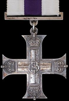 British Military Cross WW1