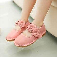 Children Princess Shoes 2017 Brand Spring Summer Girls Shoes Baby Kids Leather Shoes for Girls Sandals Baby Girl Dancing Shoes Little Girl Shoes, Toddler Girl Shoes, Toddler Girl Style, Toddler Outfits, Kids Outfits, Toddler Girls, Baby Kids, Baby Girl Sandals, Girls Sandals