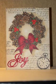 Card made with Penny Black stamp and colored with Copic marker