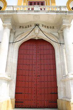 la Puerta Grande -plaza de Toros ~ Sevilla, Spain by fototaker