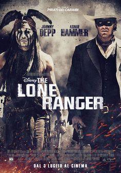 The Lone Ranger, dal 3 luglio al cinema.
