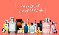 Ofertas do fim de semana Imports Cosméticos! Separamos 4 ofertas em perfumes importados para você! Compre sem sair de casa e parcele suas compras em até 6x sem juros no cartão de crédito.