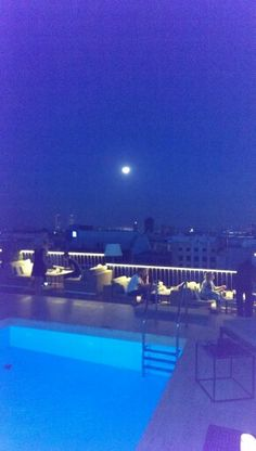 Luna y barcelona