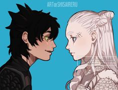 Toothless and his mate as humans. Cartoon Characters As Humans, Cute Characters, How To Train Dragon, How To Train Your, Dreamworks Animation, Disney And Dreamworks, Cute Disney, Disney Art, Httyd Dragons