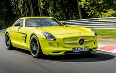Mercedes SLS AMG Coupé Electric Drive Electric Coolness