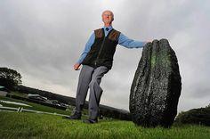 Пит Глейзбрук с гигантским кабачком