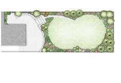 Design for split-level Family Garden in #Dundrum, Dublin 18. Ireland. www.owenchubblandscapers.com