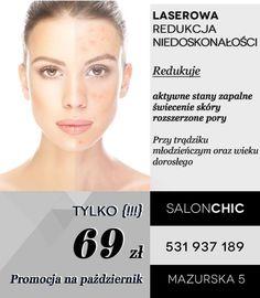 http://http://salonchic.pl/ Salon CHIC Mazurska 5  Tel. 531 937 189salonchic.pl/