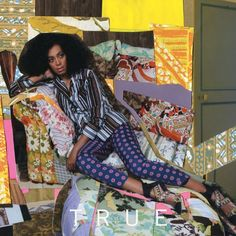 T R U E is an EP by Solange which reaffirmed just how talented this woman is. Her song-writing capabilities are incredible and she is not afraid to be vulnerable in her music. This 'True' limited edition cover was done by the artist, Mickalene Thomas.