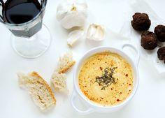 Quattro formaggi soup