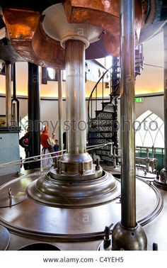 Piston And Cylinder Of Engine At De Cruquius Steam Powered Water Stock Photo, Picture And Royalty Free Image. Pic. 37483521
