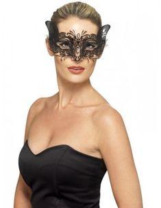 New Ladies FOXY VENETIAN MASQUERADE EYE MASK HALLOWEEN PARTY LACE FANCY DRESS
