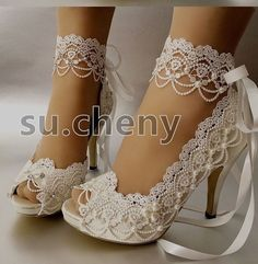 something like this, but a kitten heel