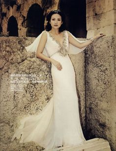 Fashion Olympics; Zhang Zi Yi as Athena