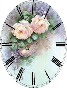 artist sonie ames pictures of her painting Art Floral, Floral Vintage, Vintage Flowers, Vintage Prints, Floral Prints, Vintage Soft, Decoupage Vintage, Decoupage Paper, Flower Bird