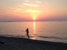 Fun times on the Spadafora beach in Messina