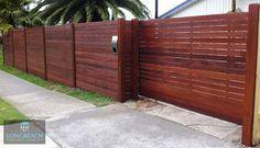 Merbau Fences   Merbau Timber Feature   Melbourne   Longbeach Fencing