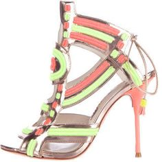 Sophia Webster Phoebe Leather Sandals