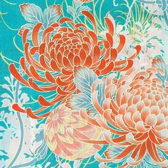 Japanese Quilt Patterns, Japanese Quilts, Asian Flowers, Japanese Flowers, Graphite Drawings, Art Drawings, Oriental Wallpaper, Peony Illustration, Paint Themes
