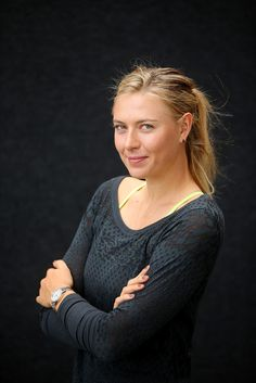 Maria Sharapova Photos Photos - Maria Sharapova poses ahead of the 2015 Brisbane International at Queensland Tennis Centre on January 3, 2015 in Brisbane, Australia. - 2015 Brisbane International - Previews