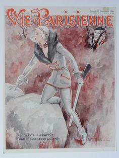 Fabien Fabiano (1883–1962). La Vie Parisienne, 27 Septembre 1930.