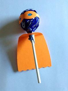 Superhero Lollipop by alcove927 on Etsy