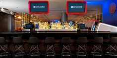 Grab a drink from the innovative cocktail menu at Chuck's Manufacturing!