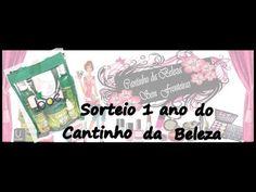 SORTEIO EM COMEMORAÇÃO DE 1 ANO DO CANTINHO DA BELEZA E DO CANAL DIVINA ...