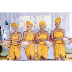 Amazing concept. These are hostesses at an event planned by @bisolatrendybee #sugarweddings
